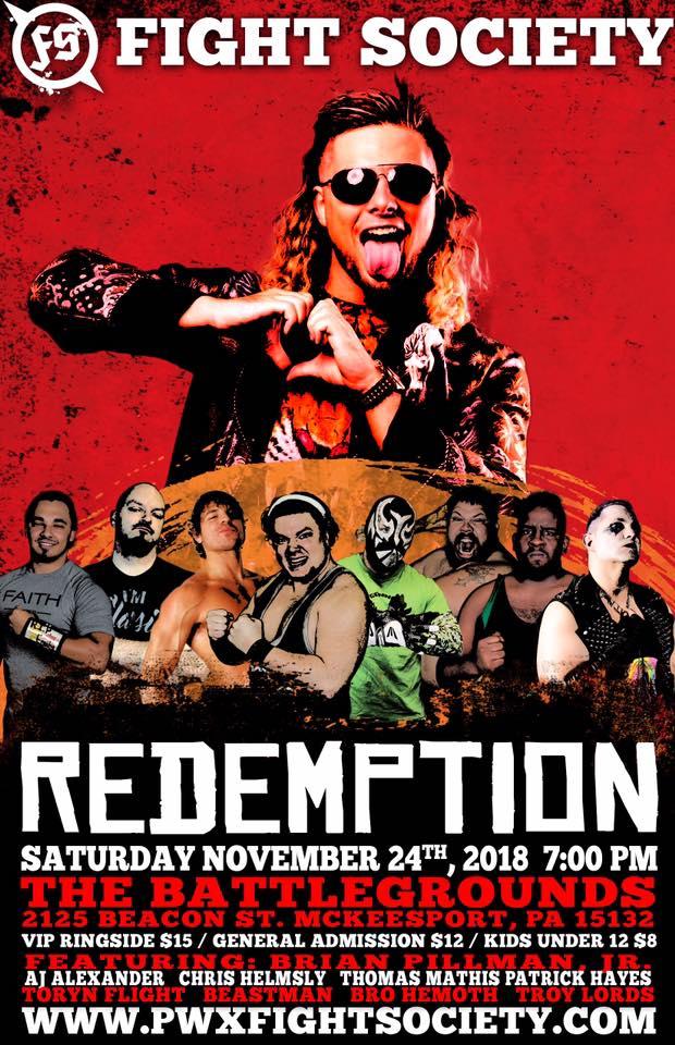 Fight Society - Redemption (November 24, 2018)