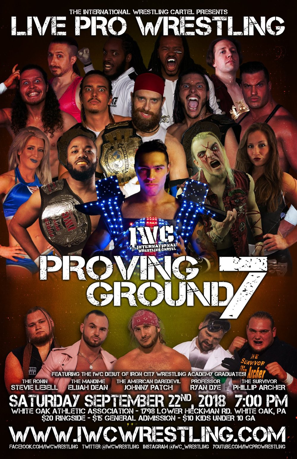 IWC - Proving Ground 7