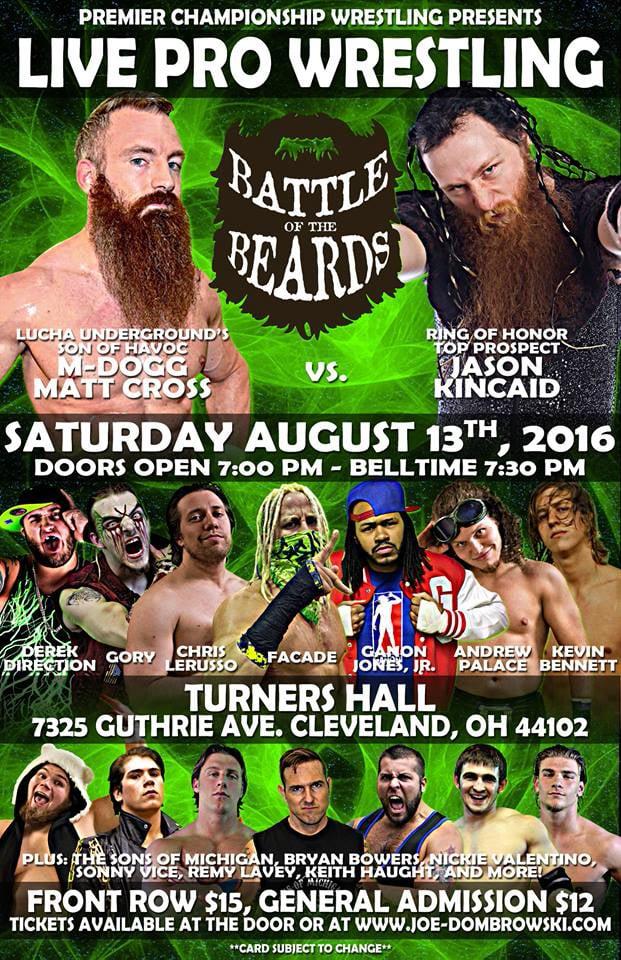 Premier Championship Wrestling - Battle of the Beards