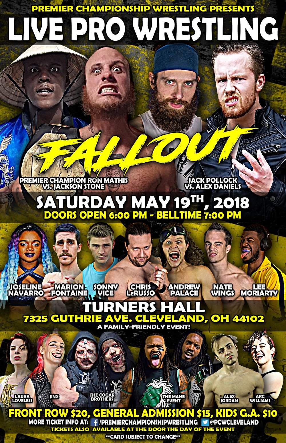 Premier Championship Wrestling - Fallout 2018