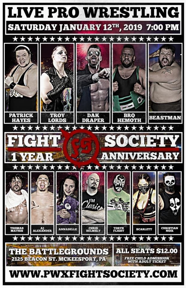 Fight Society - Episode 21