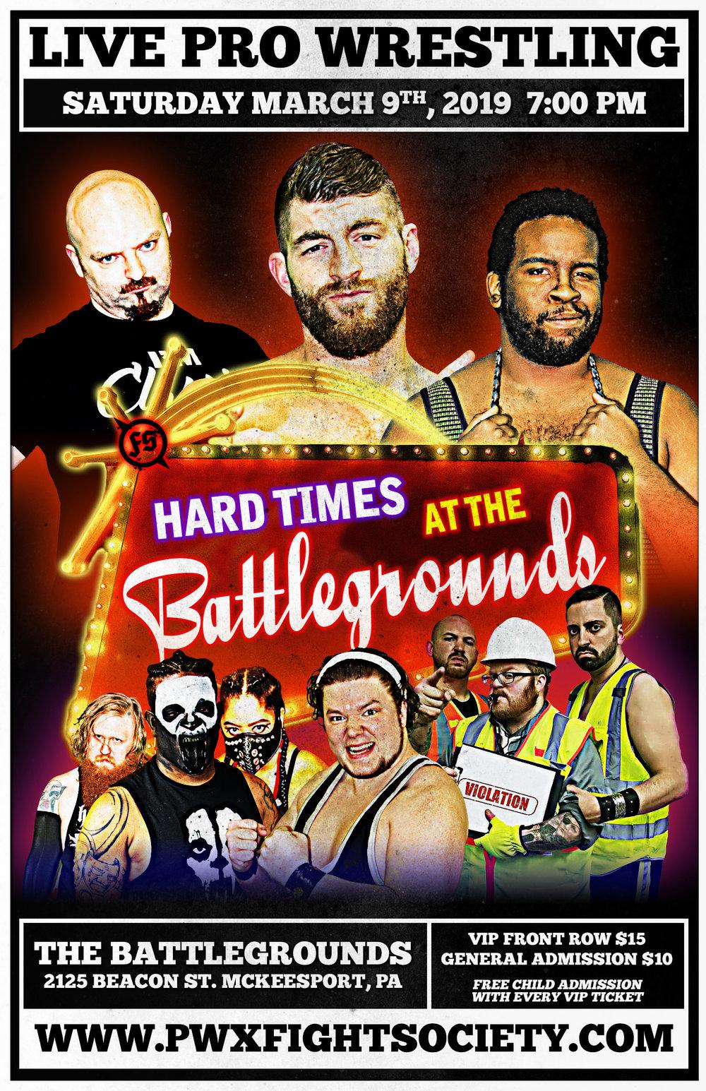 Hard Times at the Battlegrounds