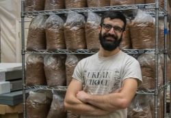 Jake Greenbaum, Urban Choice mushroom farm.