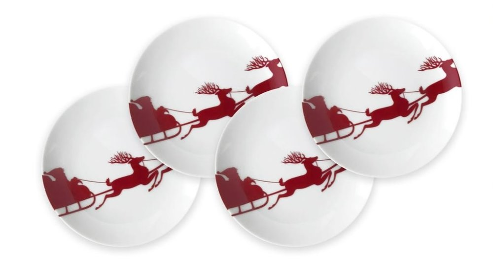 Sleigh Red Canapes