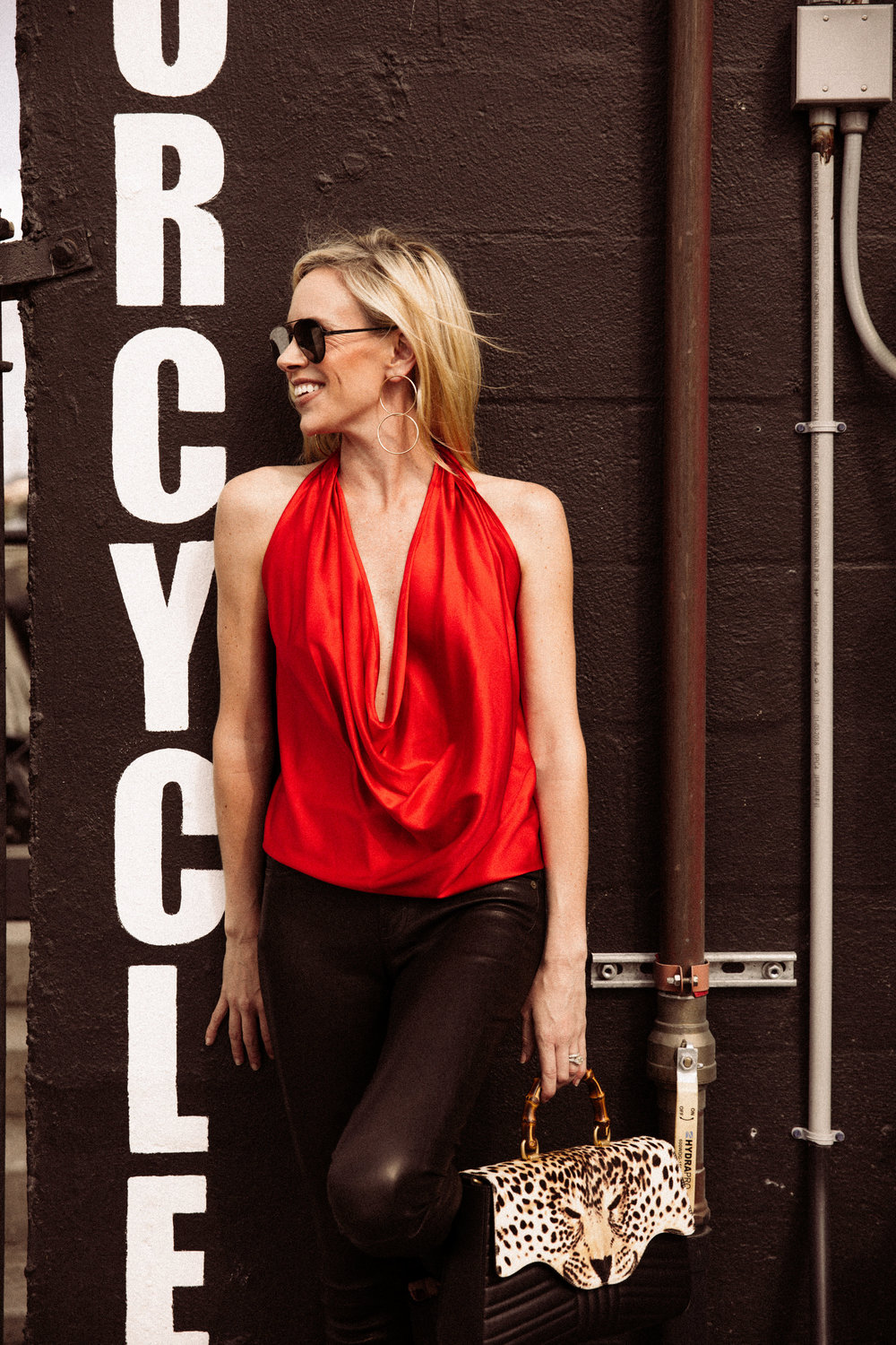 Redefining Red: How to style red with elegance and glamour, while keeping its sultry vibe. Though it's been labeled like the Scarlet Letter, red can be much more than devilishly precarious. It can bring both power and interest to an outfit at the same time. - Krista Glover | Chic Meets West