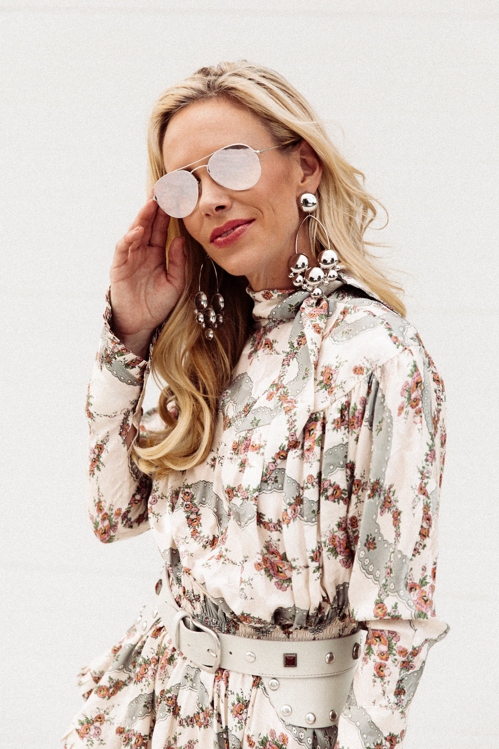 """My newfound love has been with Isabel Marant. While the line has been around for quite some time, it came out on a mission in 2018 and has continued to be one of the """"it"""" designers in 2019. The cuts are flirty, the prints are edgy, and the belts are flat out kick ass.   Chic Meets West, Krista Glover"""