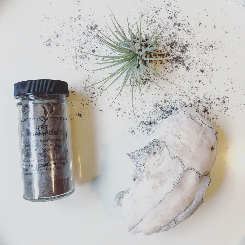 Dry Shampoo by Quiet Cricket Studio, Dark Tone