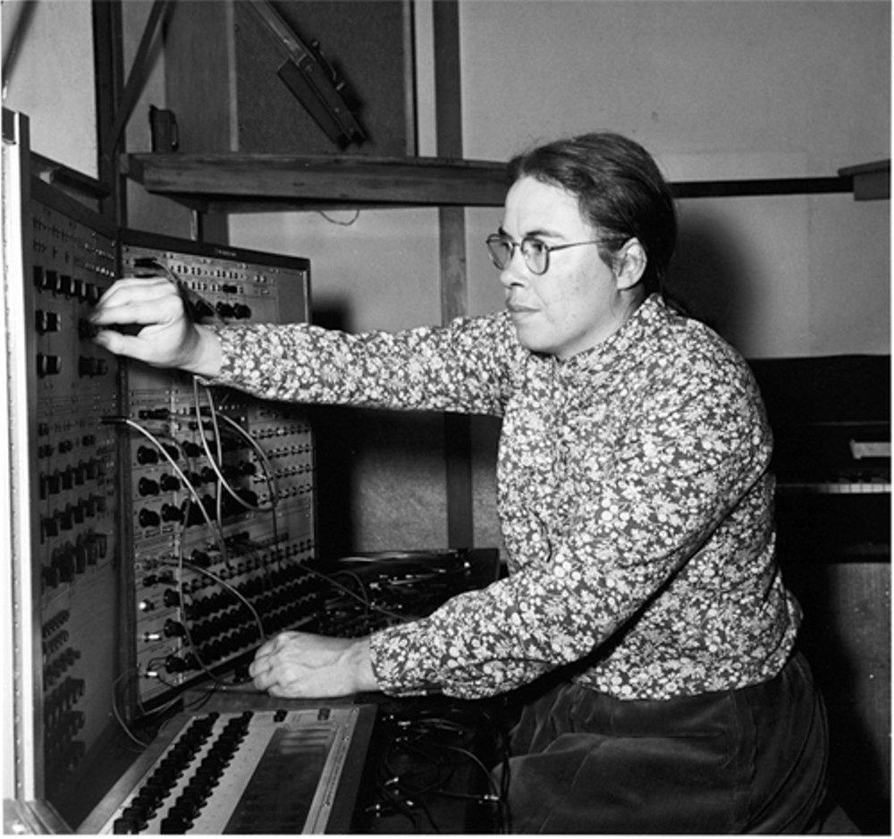 Composer Pauline Oliveros Photo by csindy.com