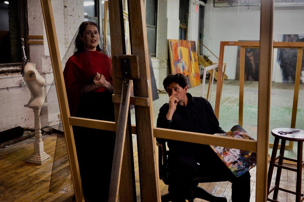 Rachel Hippert & Jorge Posada Photo by Hassan Malik