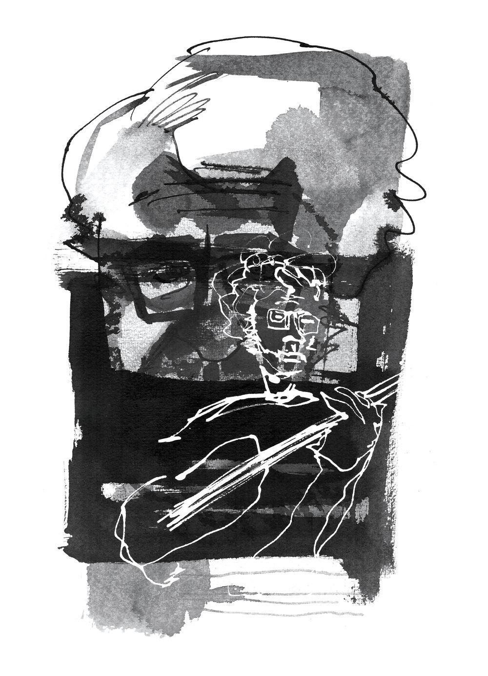 """Tomás """"Autómata"""" de Camino Beck Illustration by José Pablo Ureña"""