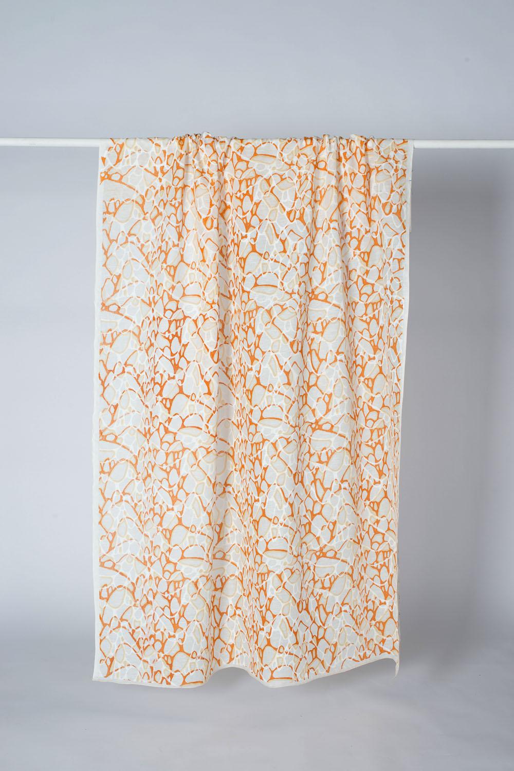 Screen printed on glas fiber weave