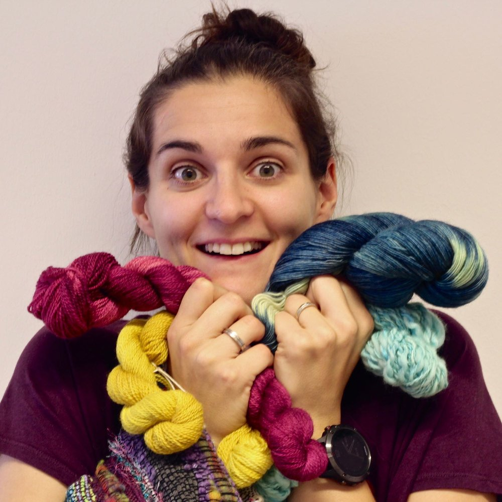 zoe - Textile artisan interested in weaving and knitting.