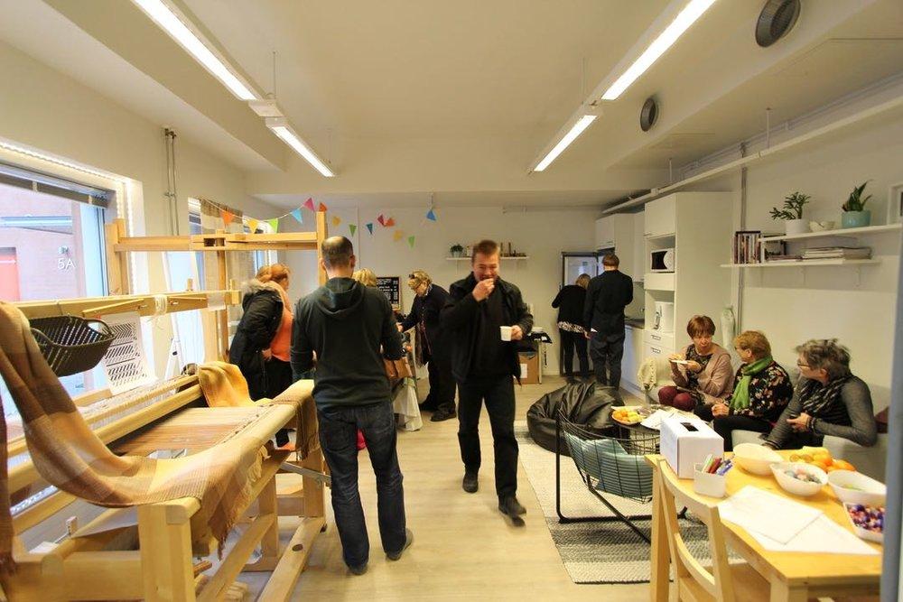 Kutomo craft studio opening party