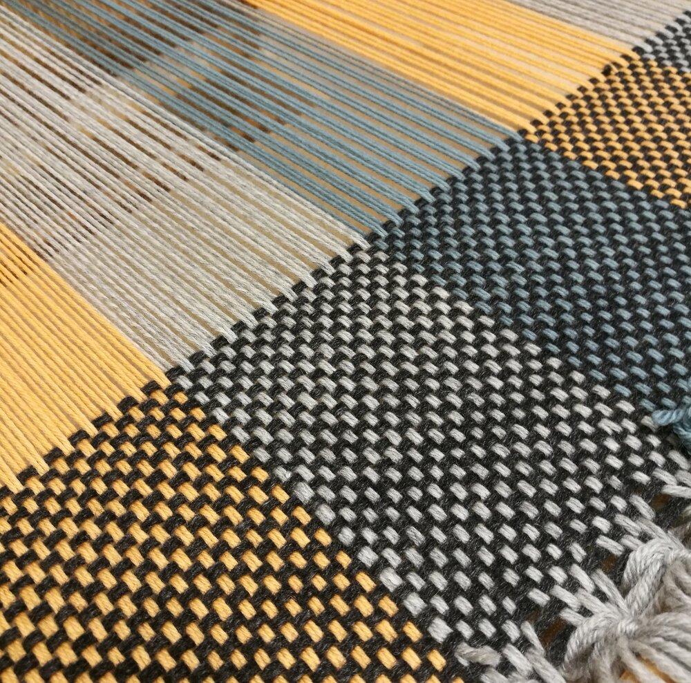 Weaving project 2: rag rug