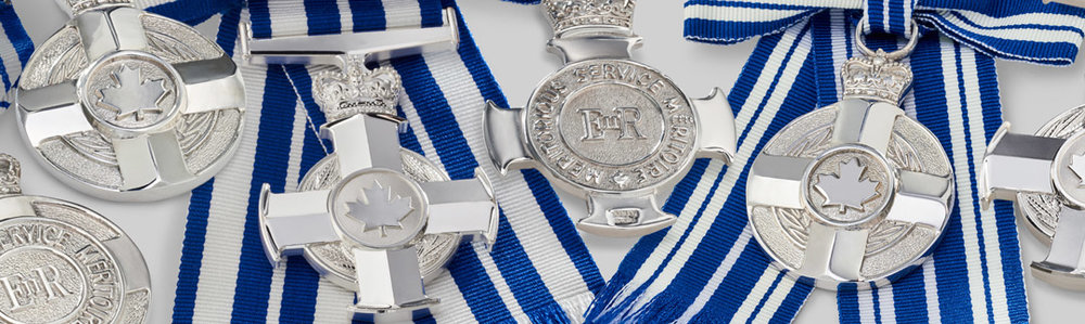 The Meritorious Service Decorations of Canada (photo: Governor General's office)