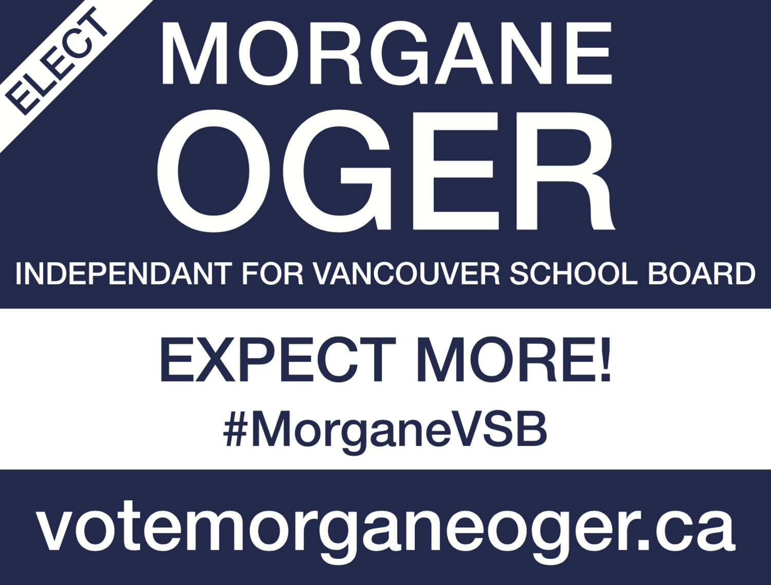 Morgane OGER For School Board