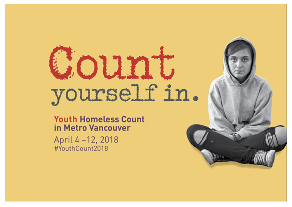 2018 Youth Homeless Count - Metro Vancouver
