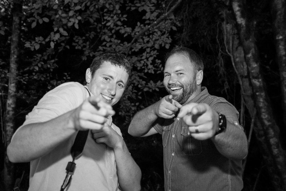 Me (left) and Joshua Rainey (right) of Joshua Rainey Photography