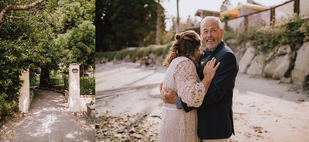 galiano island oceanfront inn and spa wedding