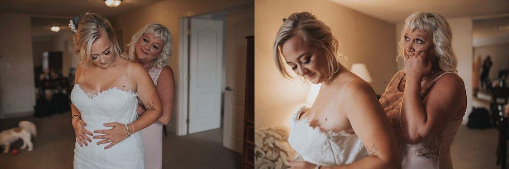 bride getting ready photos quality hotel abbotsford