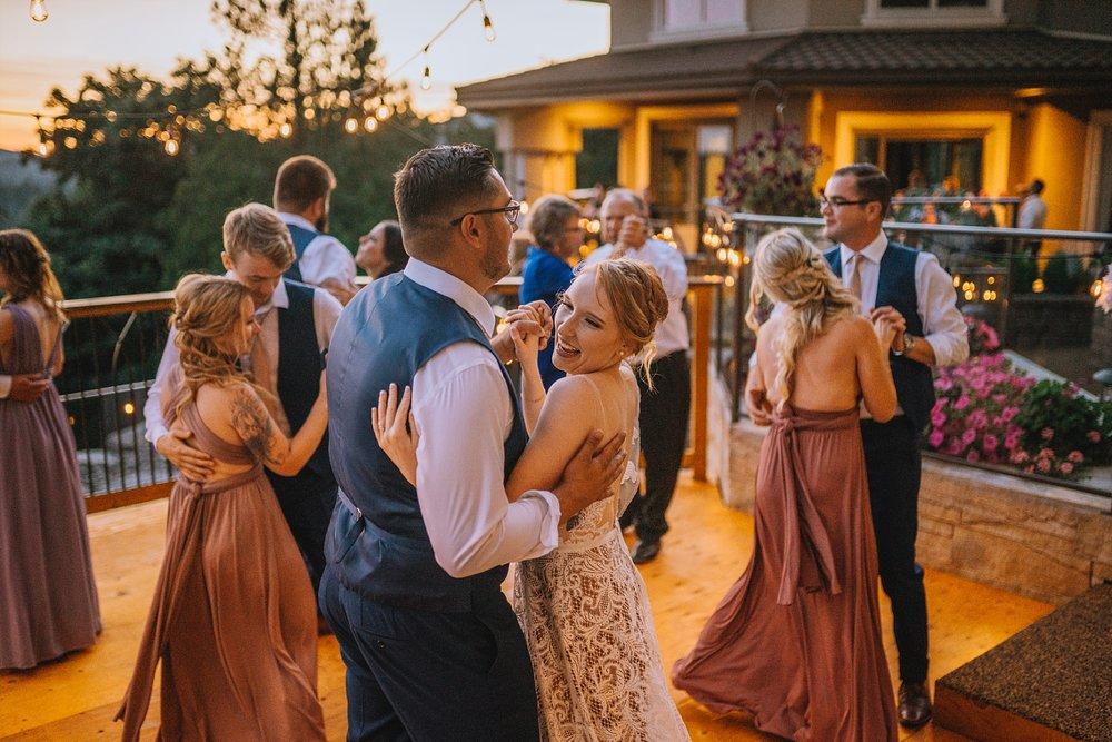 PNW Backyard Wedding