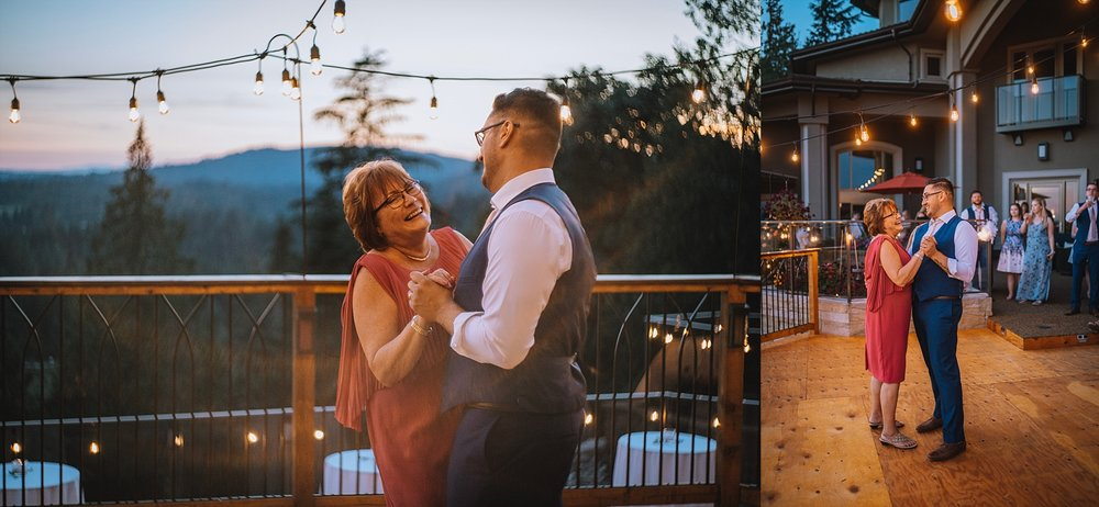 PNW Backyard Wedding Photographer