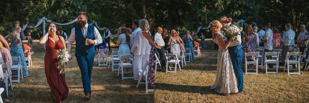 vancouver backyard wedding photography