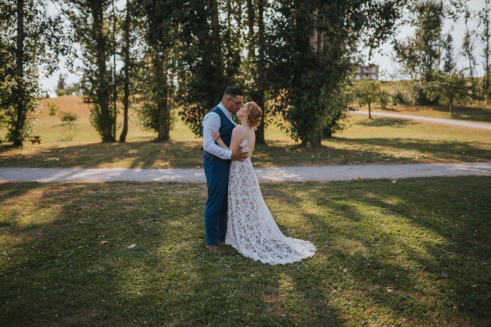 fraser river heritage park wedding