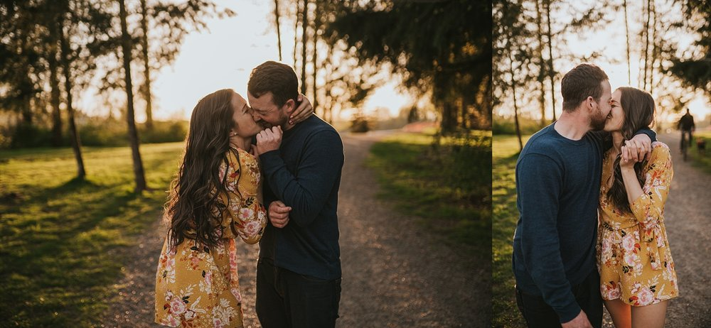 fort langley bc engagement session