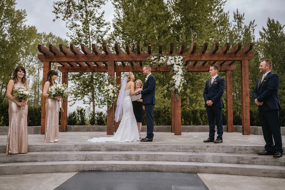 langley wedding venues the redwoods golf course