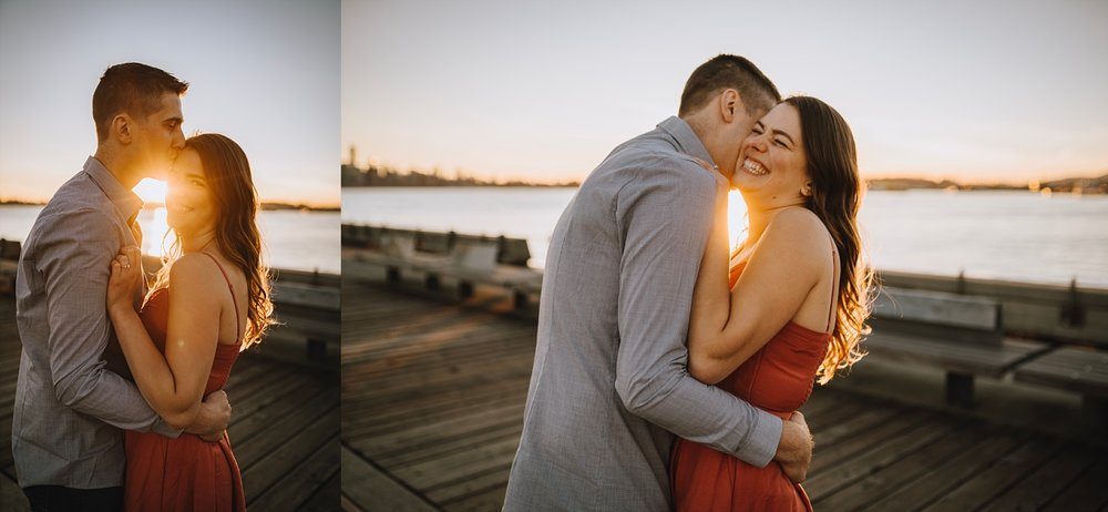 north vancouver summer engagement