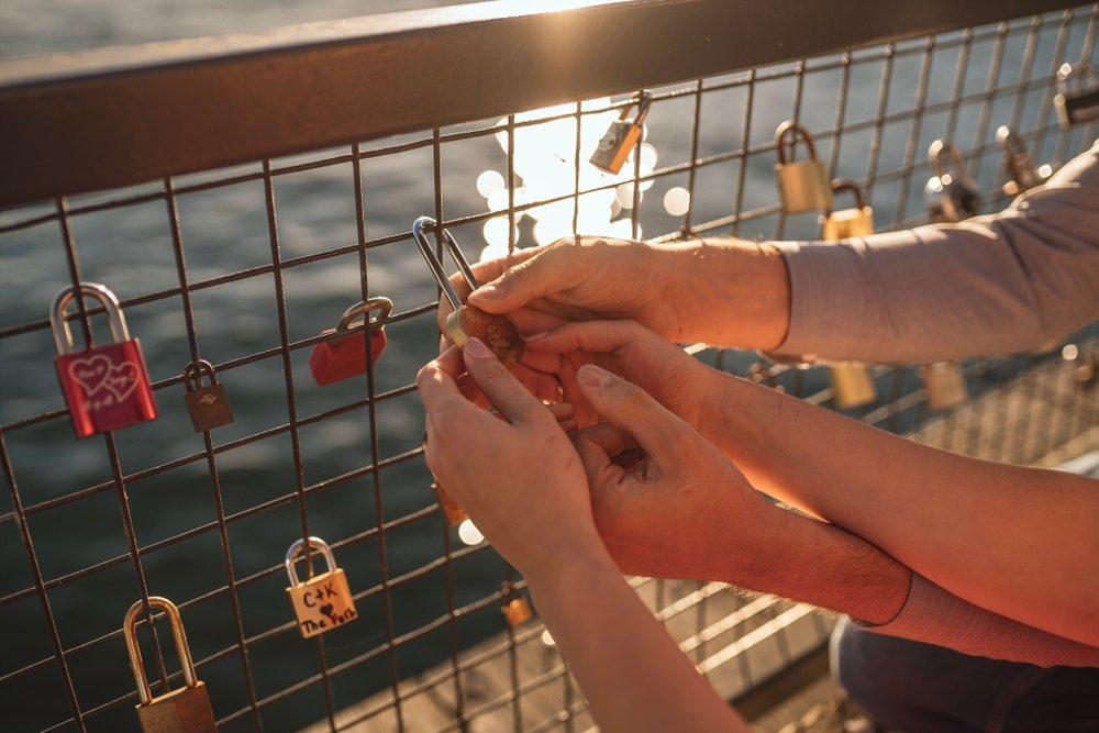 love locks north vancouver