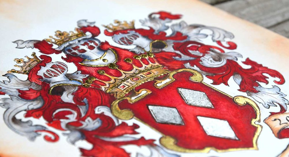 Learn more about Heraldry - Is there a difference in a coat of arms and a family crest?