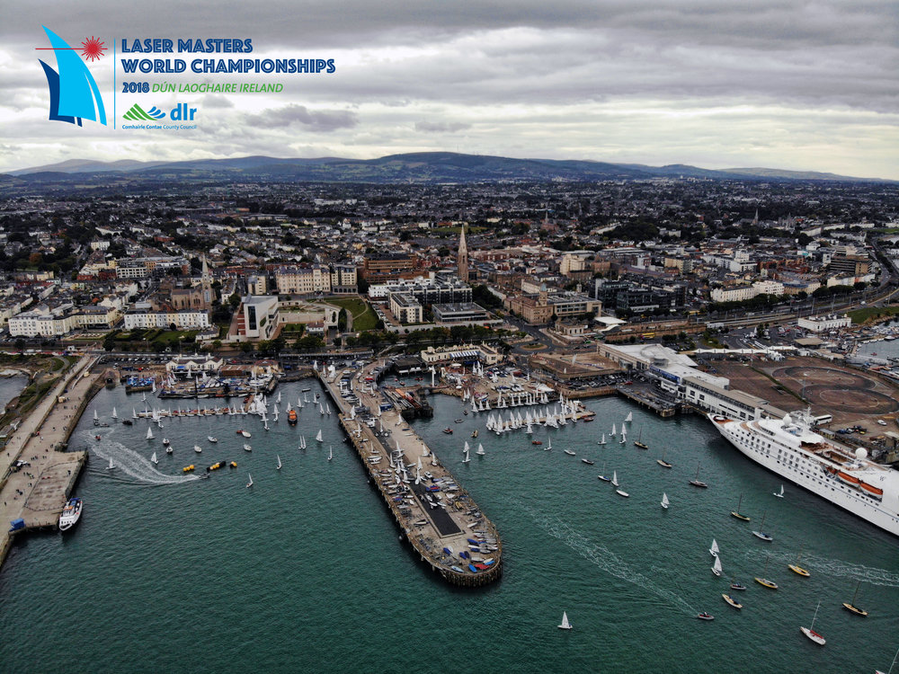 Laser Masters World Champs 2018 - Dublin, Ireland