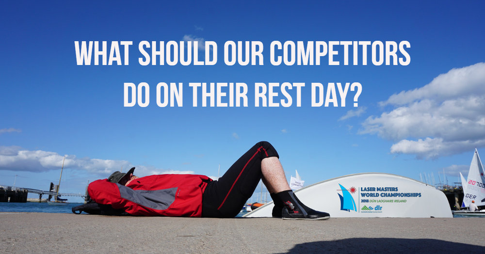 This image was posted on the morning of the competitors rest day and got great engagement from spectators who wanted to suggest where they should go on their day off