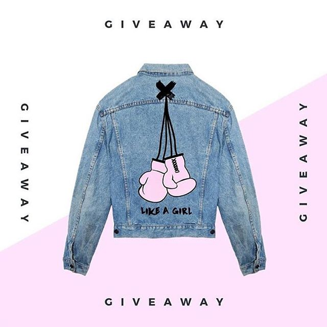 Hind Adib // 🌸 If you've been eyeing this @hindadib jacket, here's your chance to win it! Follow the brand and tag a strong woman in your life on their last post. Good luck! . . . . . . . . #girlpower #womenempowerment #giveaway #vintagedenim #fashiongiveaway #likeagirl #womensfashion #streetfashion #womenstreetstyle #womenpower #feminist #fightlikeagirl #giveawaytime #londonfashion #hindadib