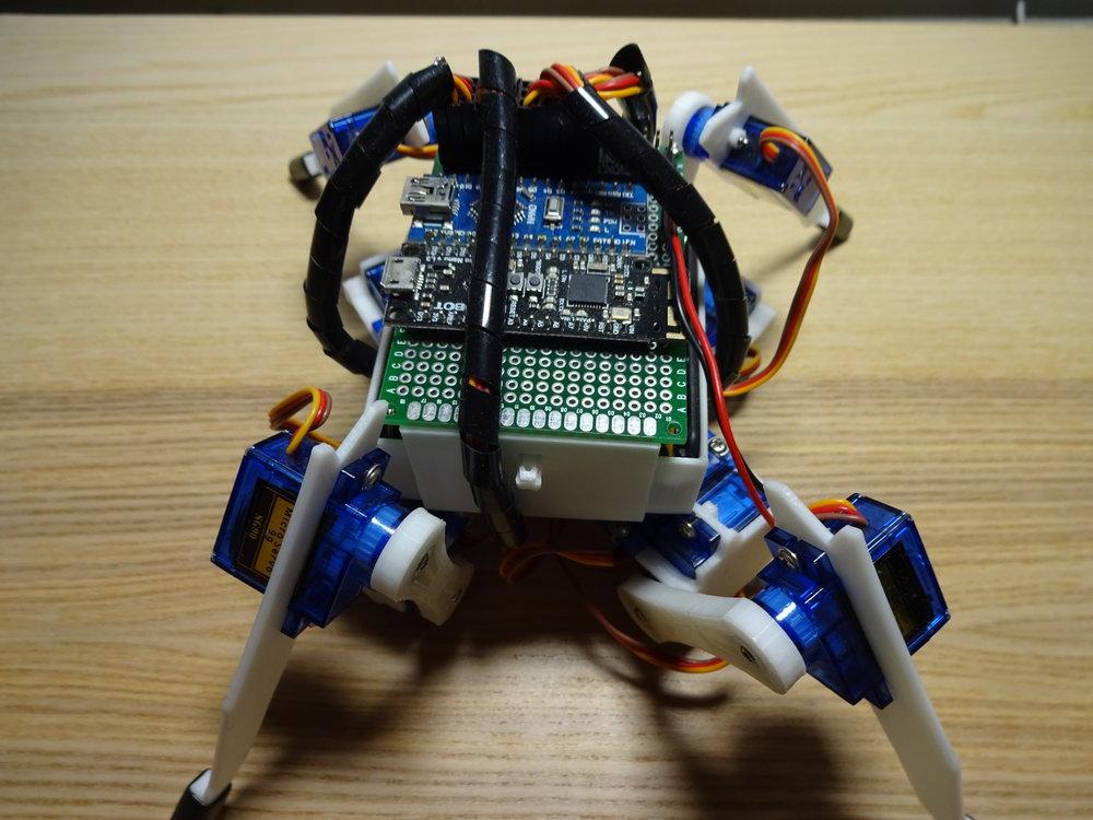 Arduino Quadrupy — Terry's Engineering Log