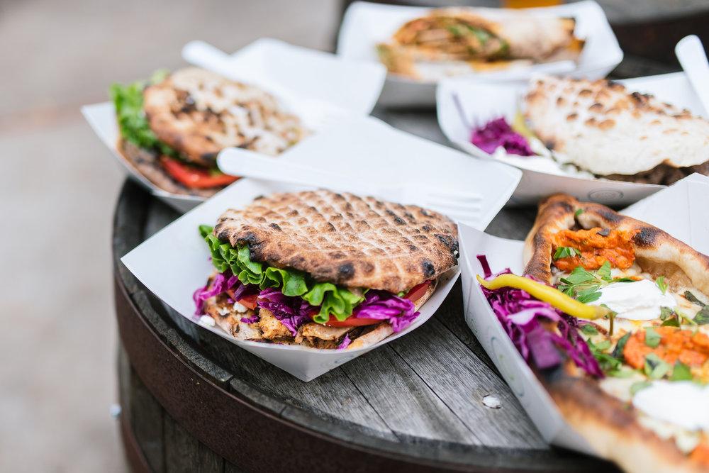 Chicken Doner - Served as a sandwich