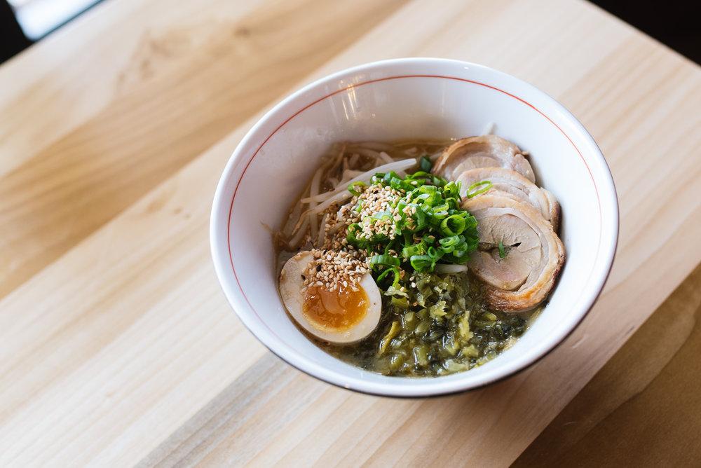 Miso Spicy Ramen - Spicy pork & miso tonkotsu