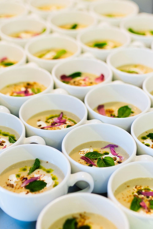 Corn Soup - Chef Matt Wynn