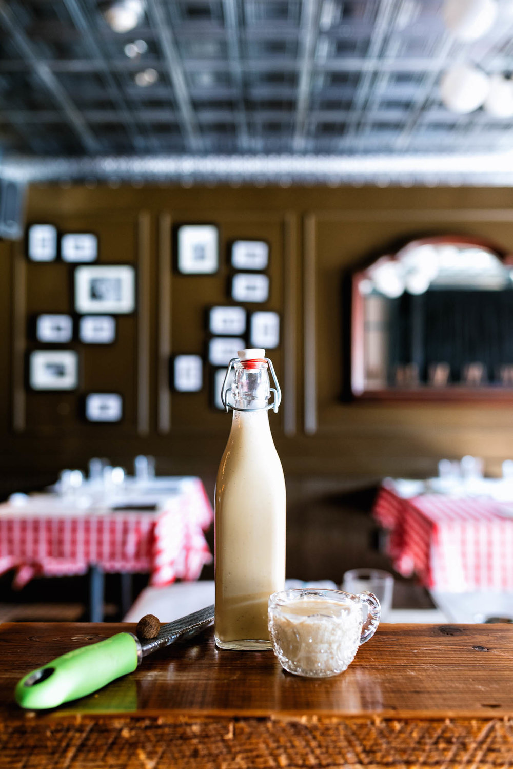 Aged Egg Nog - by jeffrey moll