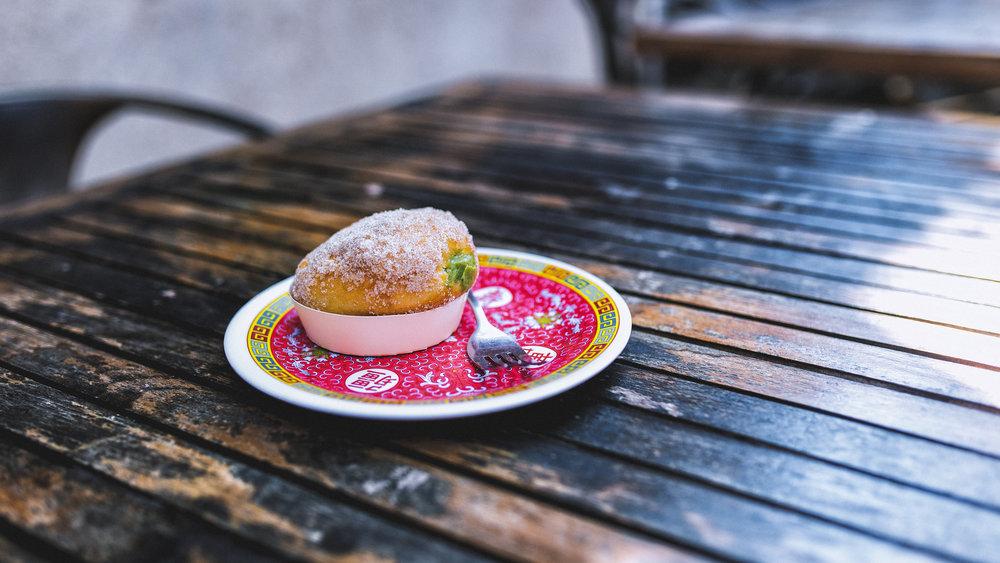 Matcha Donut -