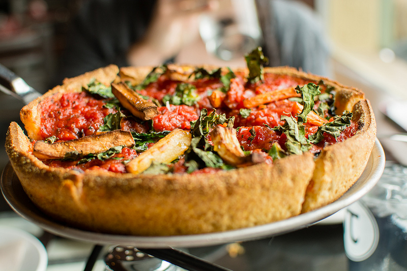 vegetable pizza Pi Pizzeria st.louis