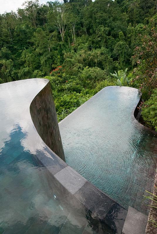 Ubud hanging gardens pools bali hotel