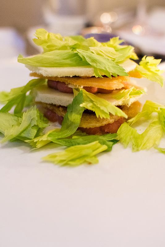 chicken liver Niche Restaurant st.louis