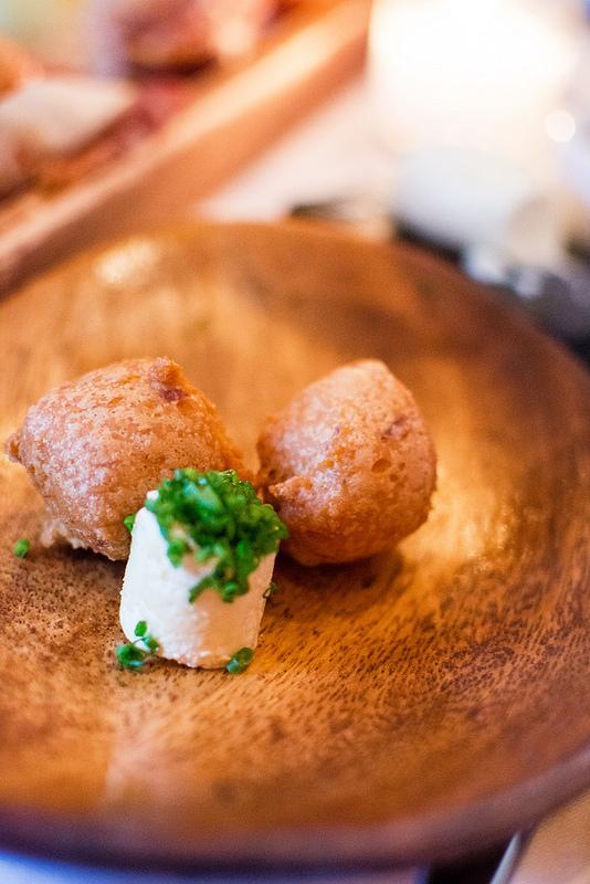 trout beignet Niche Restaurant st.louis