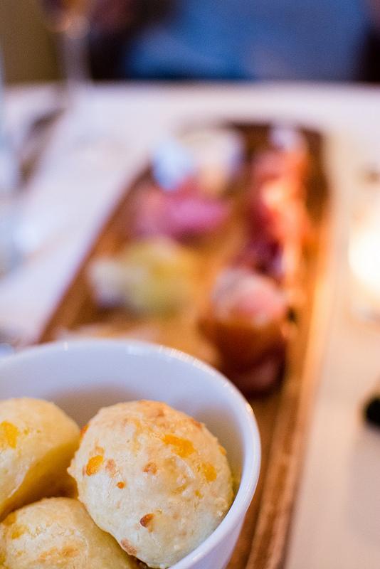 dias cheese bread Niche Restaurant st.louis