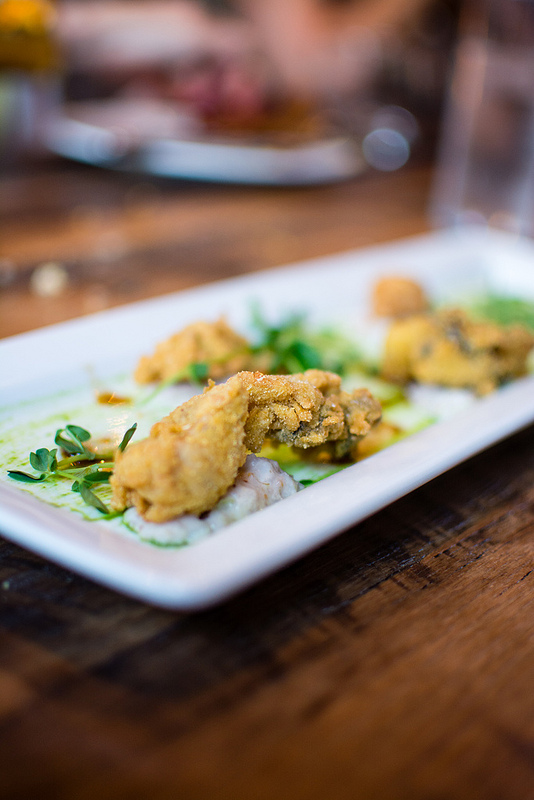 Fried oysters Juniper st.louis