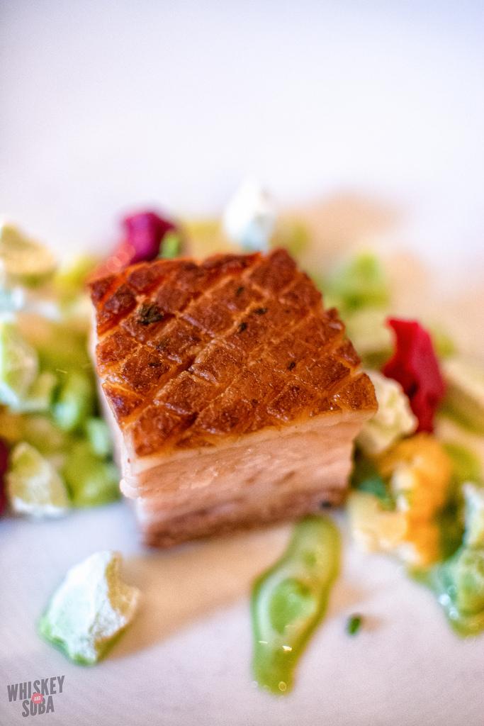 pork belly Niche Restaurant st.louis