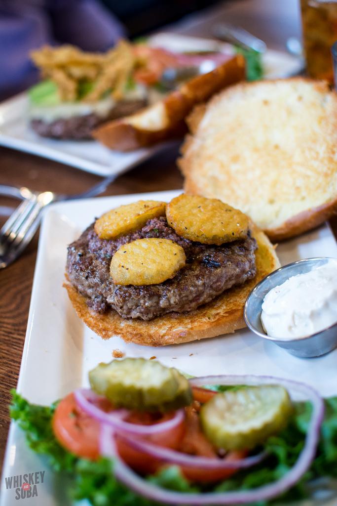 5 Star Burgers lamb burger st.louis
